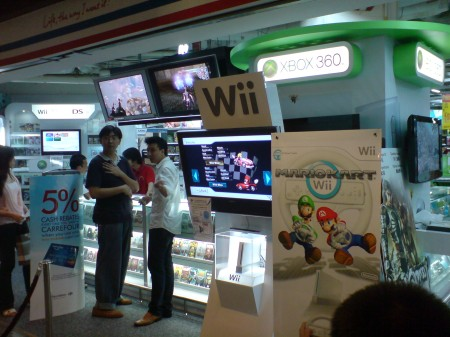 G3\'s booth at Carrefour
