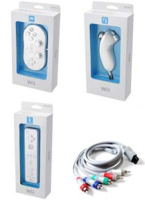 Wii accessories on sale